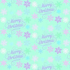 Christmas And Snowflakes
