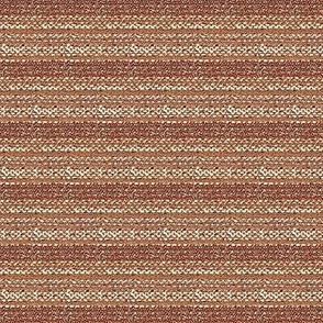 Weaver's Blanket - salmon, terracotta, off white