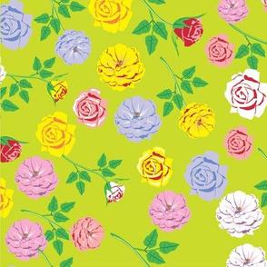 roses pattern 01