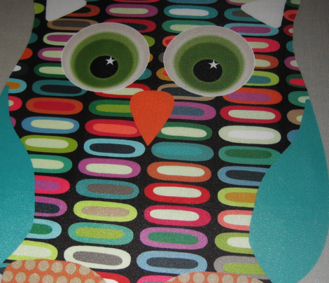 New York lozenge owl swatch