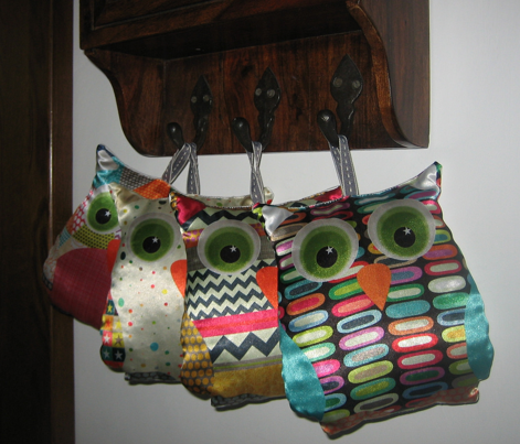 New York lozenge owl swatch