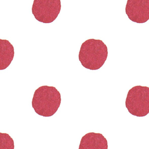 Watercolor Pink Dots (large)