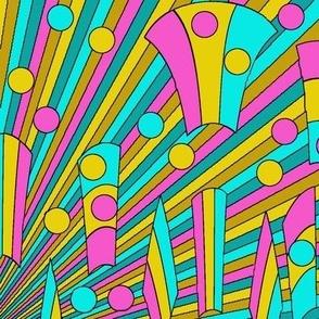 rays_yellow_pink_teal_aqua
