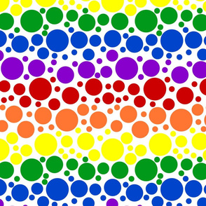 Rainbow Dots - Large