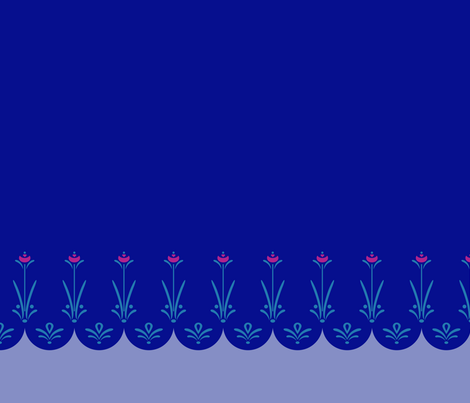 Anna Blue Dress fabric by joyfulrose on Spoonflower - custom fabric
