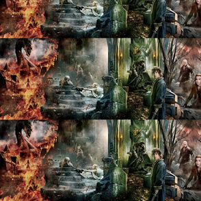 Lord of the Rings Hobbit Tapestr