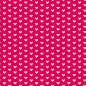 Pink Hearts Reversed