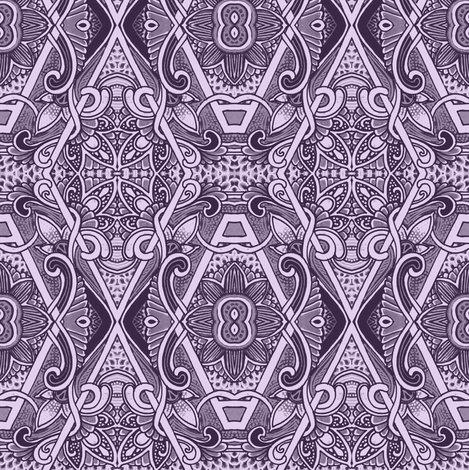 Lucky Number 8 wallpaper - edsel2084 - Spoonflower
