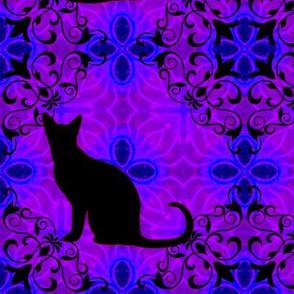 Cat Damask 9
