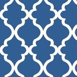 Quatrefoil - Cobalt