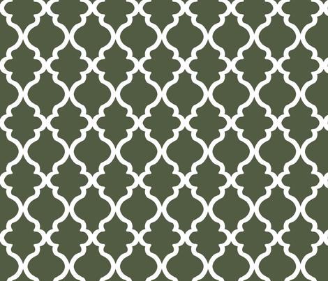 Quatrefoil - Cypress fabric by joyfulrose on Spoonflower - custom fabric