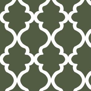 Quatrefoil - Cypress