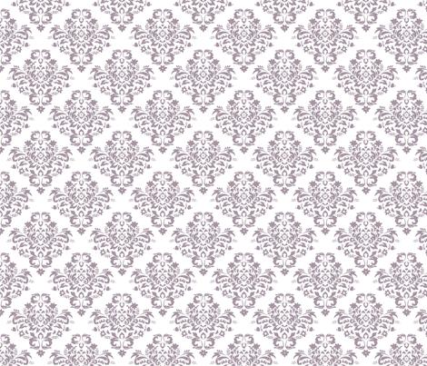 Damask - Sea Fog fabric by joyfulrose on Spoonflower - custom fabric