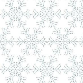 Snow Queen Elsa Snow Flakes