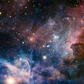 Carina Nebula fat quarter