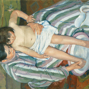 Cassatt - The Child's Bath (1893)