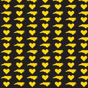 NC Love - Black&Gold