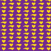 NC Love - Purple&Gold