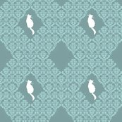 Raqua_gray_teal_damask_seamless_white_cats_shop_thumb