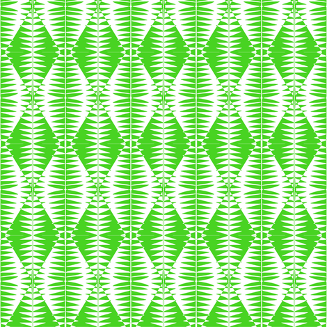 Serpentine Cucumbers Green White fabric by eve_catt_art on Spoonflower - custom fabric