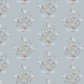 siamese damask, grey