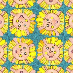 Smiley Sunflower