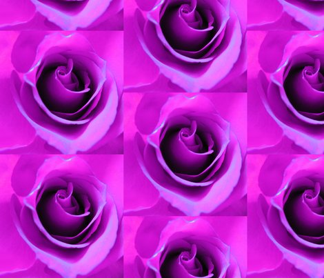 Purple Neon Rose wallpaper - sillasart - Spoonflower