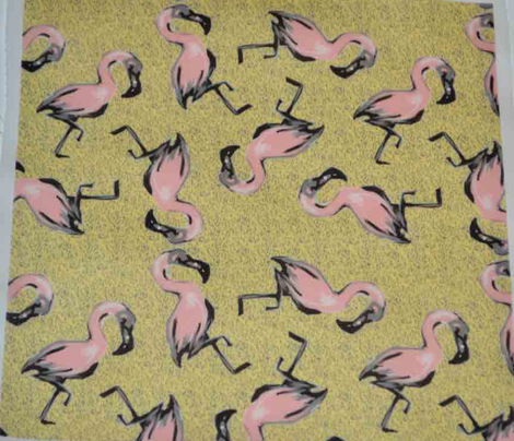 Retro Flamingoes