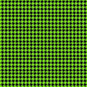 Lime Houndstooth