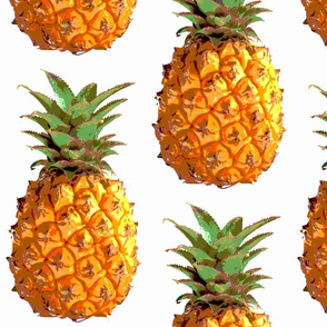 Large Pineapples close