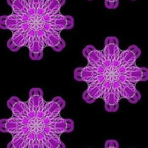 Nerve Endings in Shimmering Purple