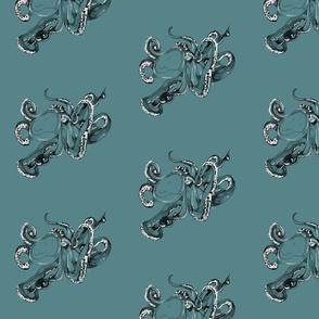 Octopoda (Teal)