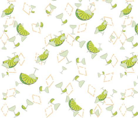 Margaritas fabric by crankysaint on Spoonflower - custom fabric