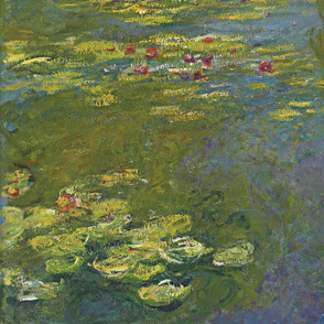 Monet  - Water Lily Pond (1919)