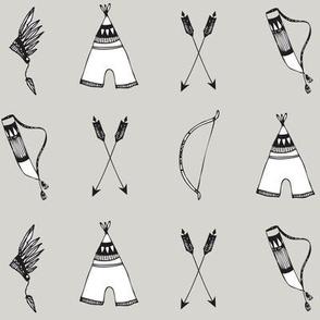 bow & arrow sand elvelyckan