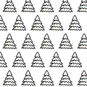 Geo Scribble Tree