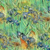 Irises Van Gogh Art