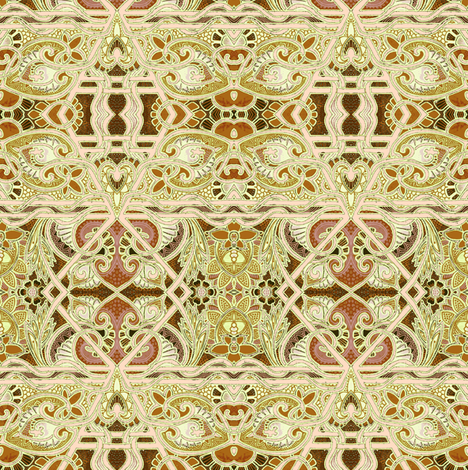 Searching For Gold fabric by edsel2084 on Spoonflower - custom fabric