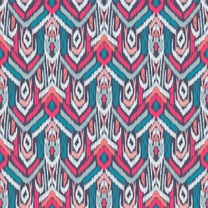 Ikat Ikat Grey Multi