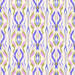 Ikat Stripe Purple