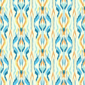 Ikat Stripe Blue