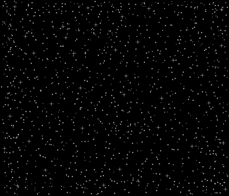 A Sky Full of Stars fabric by designedbygeeks on Spoonflower - custom fabric