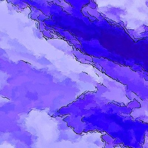 Cloud Abstract - Purple-FQ