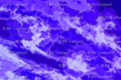Cloud Abstract - Purple-YD