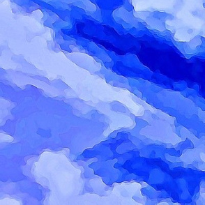 Cloud Abstract - Blue-FQ