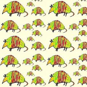 Marching Armadillos
