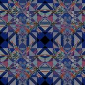 Moroccan blue tiles