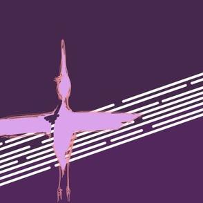 Harlequin Crane