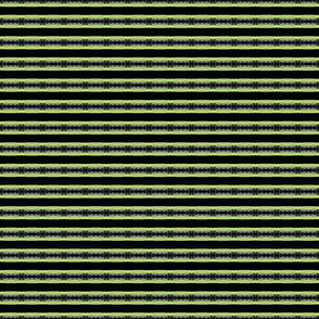 Horizontal Green and Black Stripes