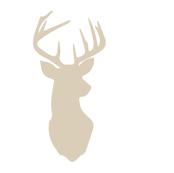 multi buck head // rustic woods